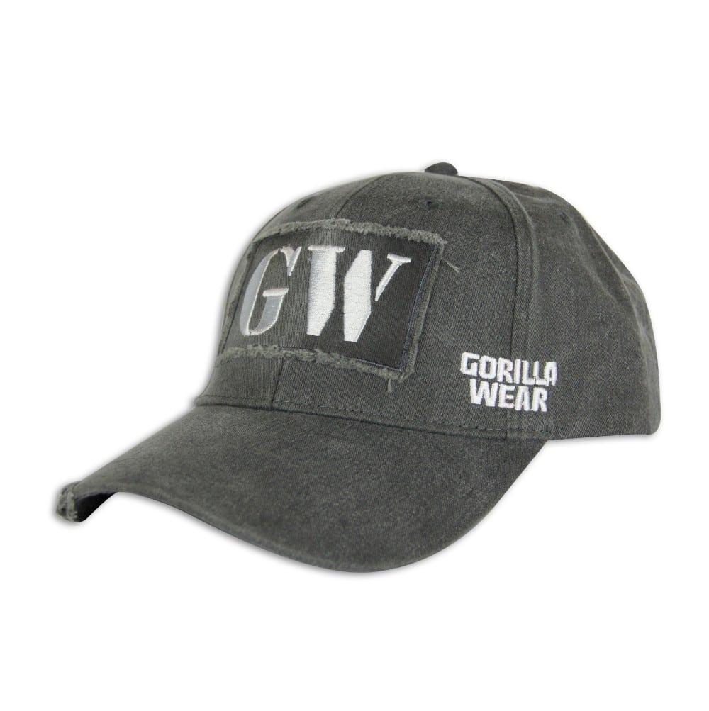 e7289ff286b7aa Gorilla Wear Washed Cap - grau bei Gorilla Wear Deutschland kaufen