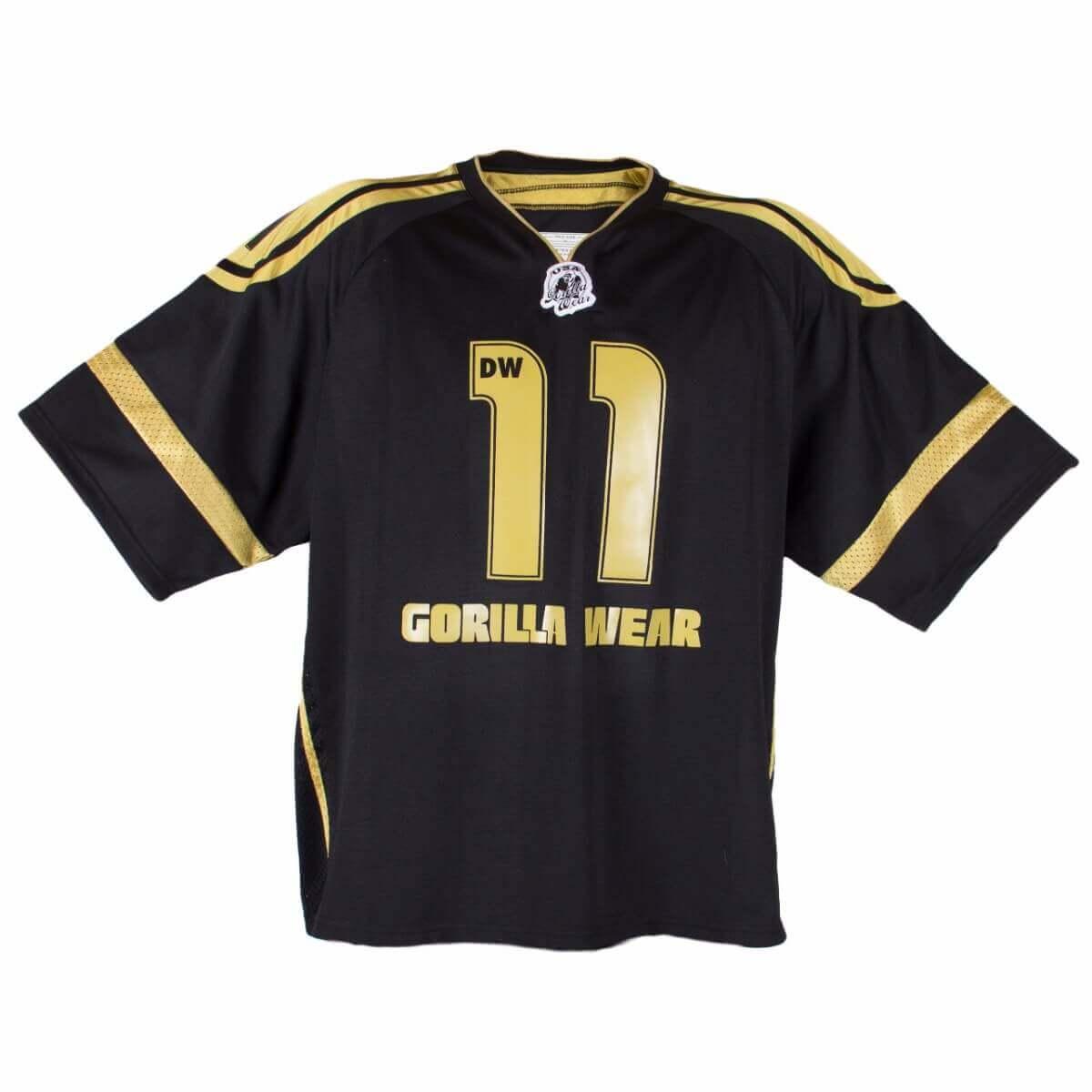 Gorilla Wear Athlete T Shirt Dennis Wolf Schwarz Gold Sale