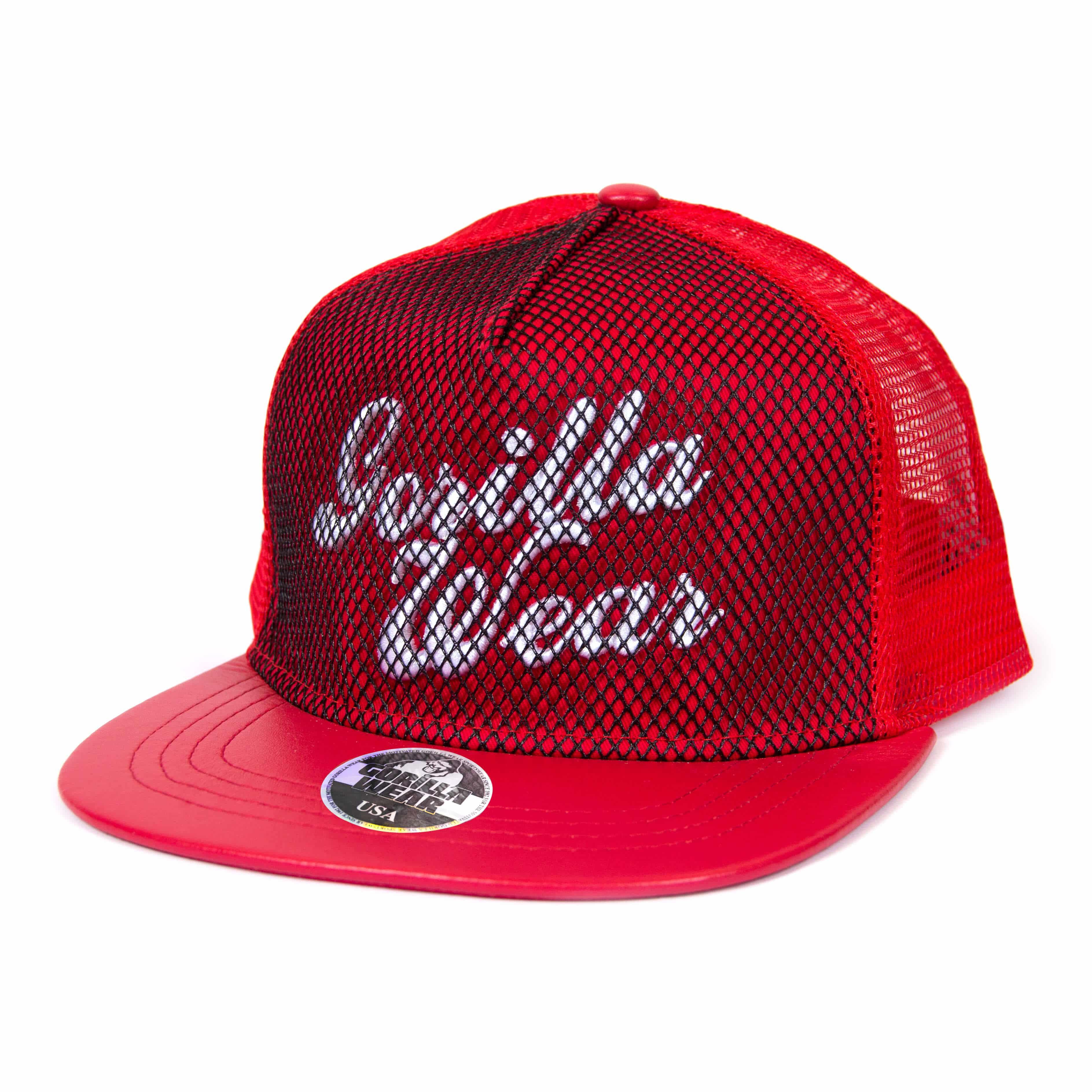 341375c8bfca66 Gorilla Wear Mesh Cap - rot bei Gorilla Wear Deutschland kaufen