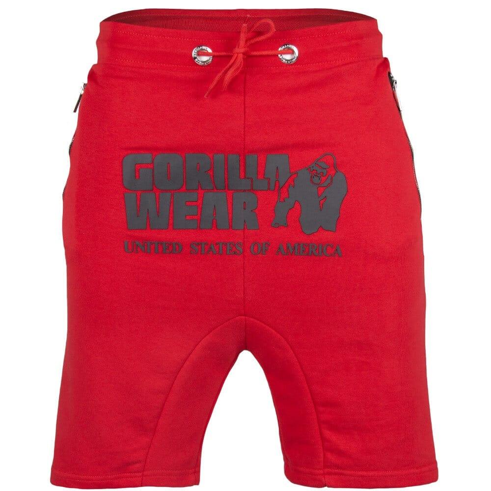 Gorilla Wear Alabama Drop Crotch Shorts Bodybuilding und Fitness Short f/ür Herren