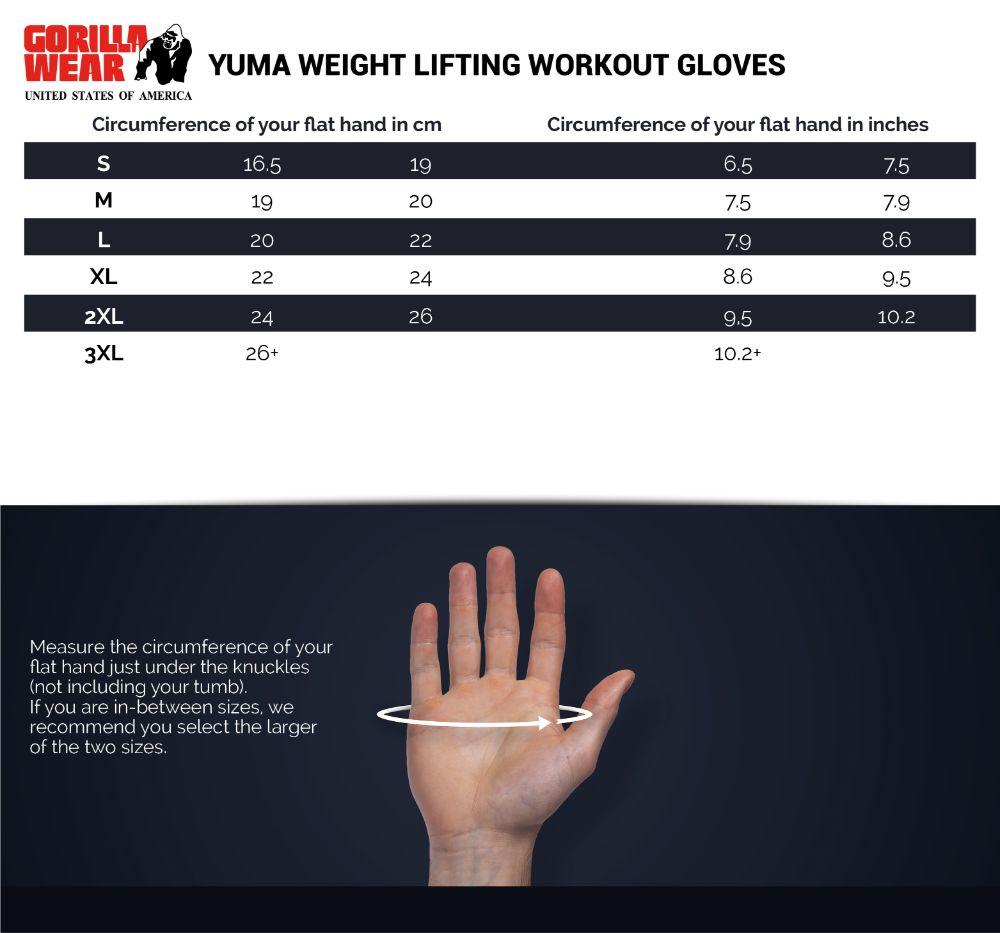Yuma Lifting Workout Gloves