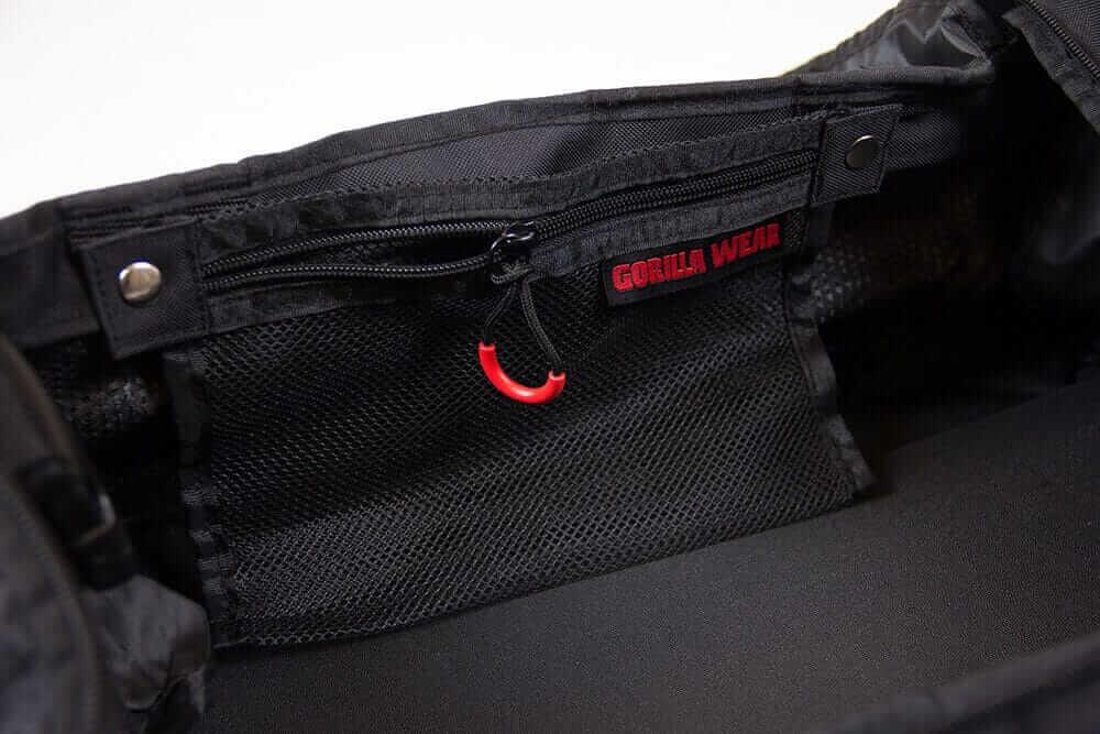 Gorilla Wear Jerome Gym Bag Black Red Tasche Sporttasche Schwarz Rot