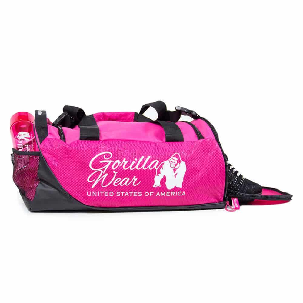 Gorilla Wear Santa Rosa Gym Bag Pink//Black Sporttasche Tasche Pink//Schwarz